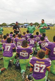 Youth Football Coach John Collins Leads S.A. Team on Divisive Friday Night Tykes