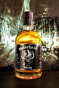 The Motörhead commemorative 40th anniversary bottle