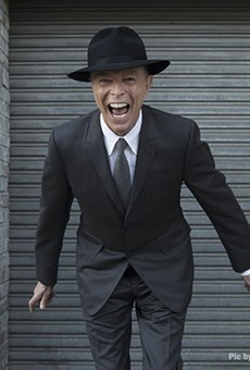 The inimitable David Bowie