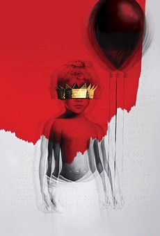 The Roy Nachum-created cover for Rihanna's ANTI