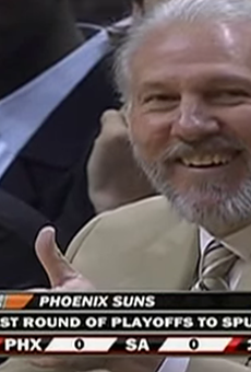 This is the fourth time Gregg Popovich has coached the All-Star team.