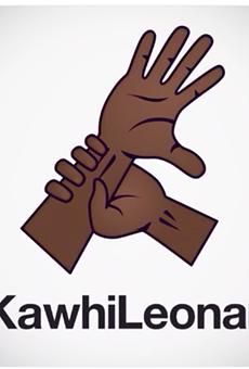 Kawhi Leonard's custom emoji