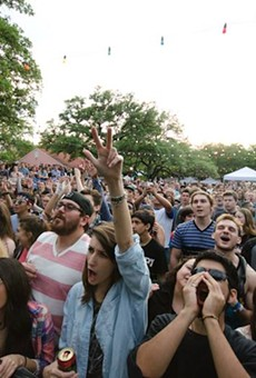 The crowd at last year's Maverick Music Festival