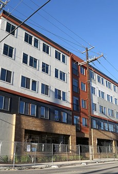 The Museum Reach Lofts, 1500 N. St. Mary's St., began receiving its first residents this week.