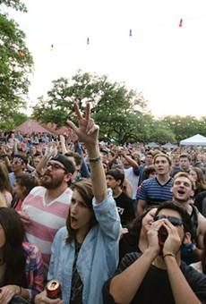 The crowd at last year's Maverick Music Festival