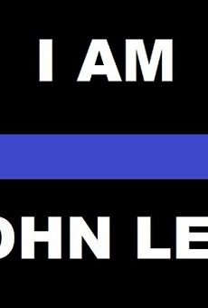 """The image from the """"Support SAPD Officer Lee"""" GoFundMe page."""