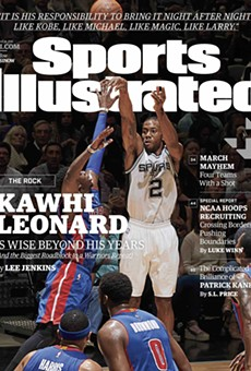 See Kawhi Leonard on the Cover of this Week's Sports Illustrated