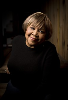 Mavis Staples, now 75.