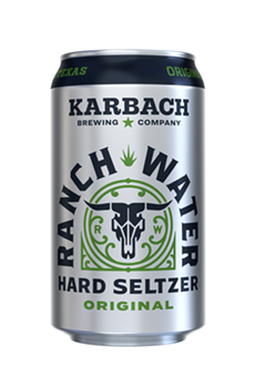 Texas craft brewer Karbach will release a canned Ranch Water cocktail in 2021