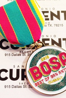Will yours rival the Current's 2015 Best of San Antonio medal?