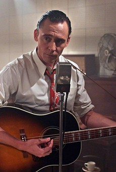 Tom Hiddleston as the King of Country, Hank Williams.