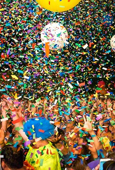 The Flaming Lips brought all the confettis.