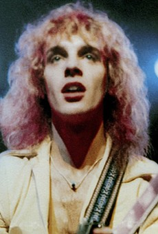 Peter Frampton, one of the Tobin Center's upcoming acts.
