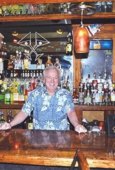 Martini Club's Wayne Harper Hangs it Up