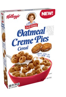 WTF food news: Little Debbie Oatmeal Creme Pie breakfast cereal is now a thing (2)