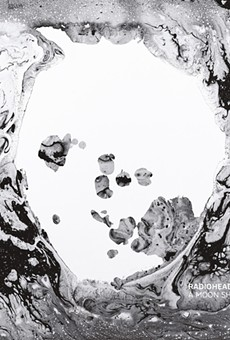 The cover to A Moon Shaped Pool