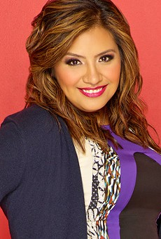 Stand-up comedian Cristela Alonzo will tape a comedy special August 20 at the Empire Theatre.