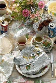 """Seven Days: Breakfast Tacos, Edition 5 of 6, 2003/2016, archival pigment ink print, 48"""" x 60"""""""