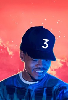 The cover to Chance the Rapper's Coloring Book