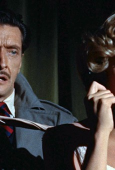 Anthony Dawson and Grace Kelly star in Alfred Hitchcock's thriller Dial M for Murder, which will kick off the new season of Texas Public Radio's Cinema Tuesdays on May 31. The 1954 film will be shown in its original 3D format.