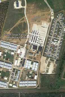 The immigrant detention complex in Dilley, Texas.