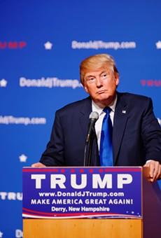 Donald Trump will be in San Antonio next Friday.