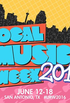 2016's Local Music Week's poster