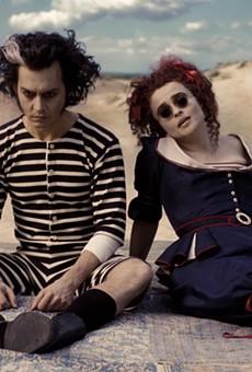 A still from Tim Burton's 'Sweeney Todd'
