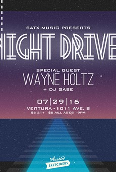 Night Drive's Dusky 'Future Wave' Descends on Ventura This Friday