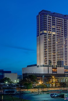 Roughly 70% of the Grand Hyatt's room revenue comes from conventioneers, according to Moody's Investors Service.