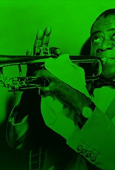 Louis Armstrong was fond of the leaf.