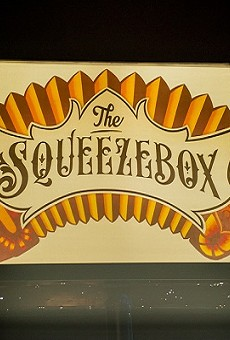 The Squeezebox is Filling a Saluté-Sized Hole on the Strip