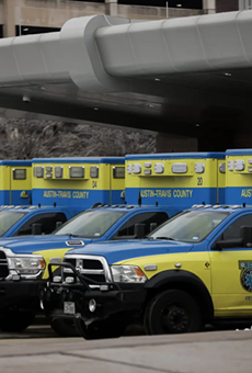 St. David's South Austin Medical Center on Thursday. Hospitals across Texas faced several operational challenges this week due to the catastrophic winter storm that disrupted power, water and food supplies.