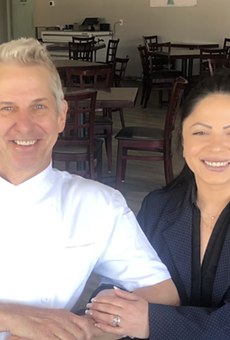 Chef Justin Ward, along with his wife Cristina, will open Glass and Plate Restaurant this spring.