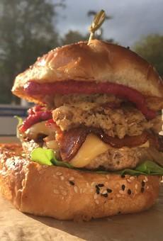 Hawx Holiday Burger