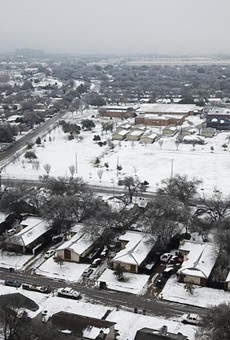 A severe snowstorm dumped heavy snow across the state last month, including on the Dove Springs neighborhood in South Austin.
