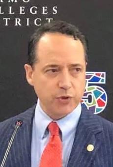 Sen. José Menéndez speaks during an event last year in San Antonio.