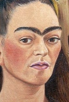 "Frida Kahlo's ""Autorretrato con mono."""