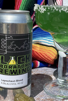Black Laboratory Brewing is offering their St. Patty-approved Leprechaun Blood beer for the holiday.