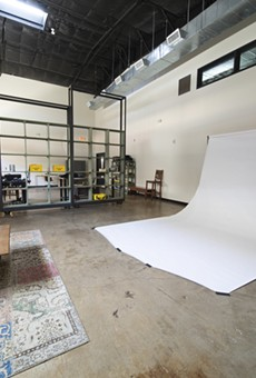 Pearl Studio is fully equipped for photo and video shoots.