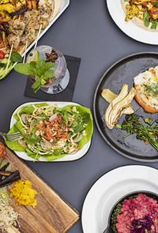Chef Elizabeth Johnson's plant-forward restaurant, Pharm Table, will open March 23.