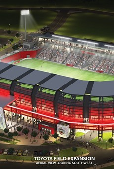 Major League Soccer isn't coming unless Toyota Field expands. Who's going to pay for that?
