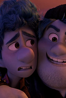 Pixar's Onward is half of Saturday's double feature at the botanical garden.