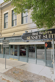 The Aiden Hotel will replace the existing Best Western Plus Sunset Suites Riverwalk at 1103 E Commerce St.