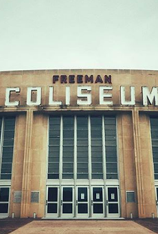 Some 2,400 minors will be temporarily housed at Freeman Coliseum under a deal reached by Bexar County and the Biden Administration.