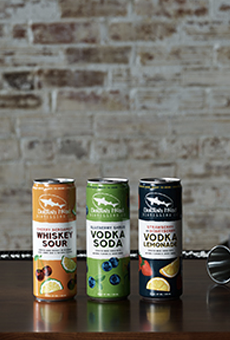 Delaware-based brand Dogfish Head has released a new line of canned cocktails.