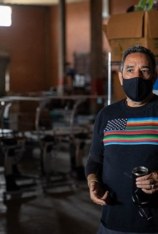 """""""What happened in Southtown and the Blue Star area is that it's become gentrified,"""" said Jon Hinojosa, SAY Sí's executive director, on the nonprofit's move to the West Side."""