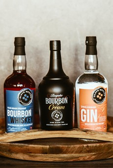 Rochester-based Black Button Distilling this month launched three small-batch spirits in the Lone Star State.