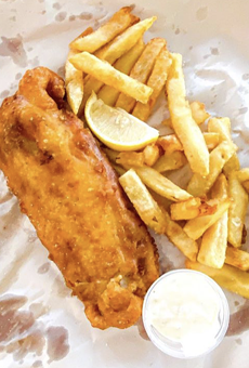 San Antonio will welcome a new English-themed bar serving fish and chips next month.