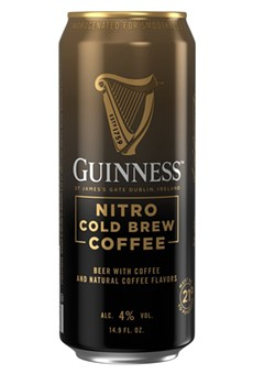 Guinness has launched a new Nitro Cold Brew Coffee.